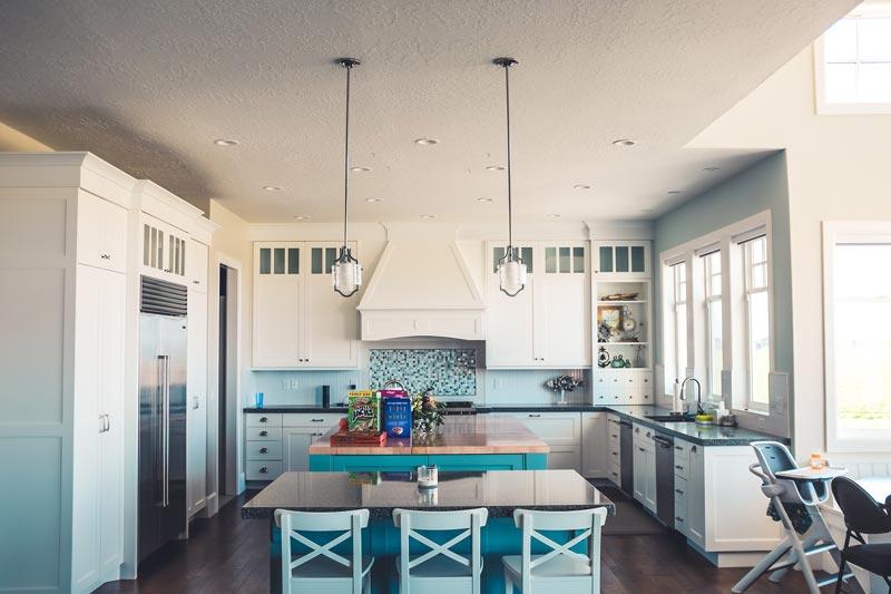 Escoge la forma que va a tener tu cocina