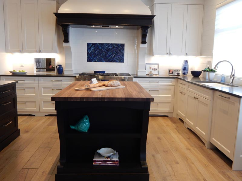 Las tres áreas de una cocina