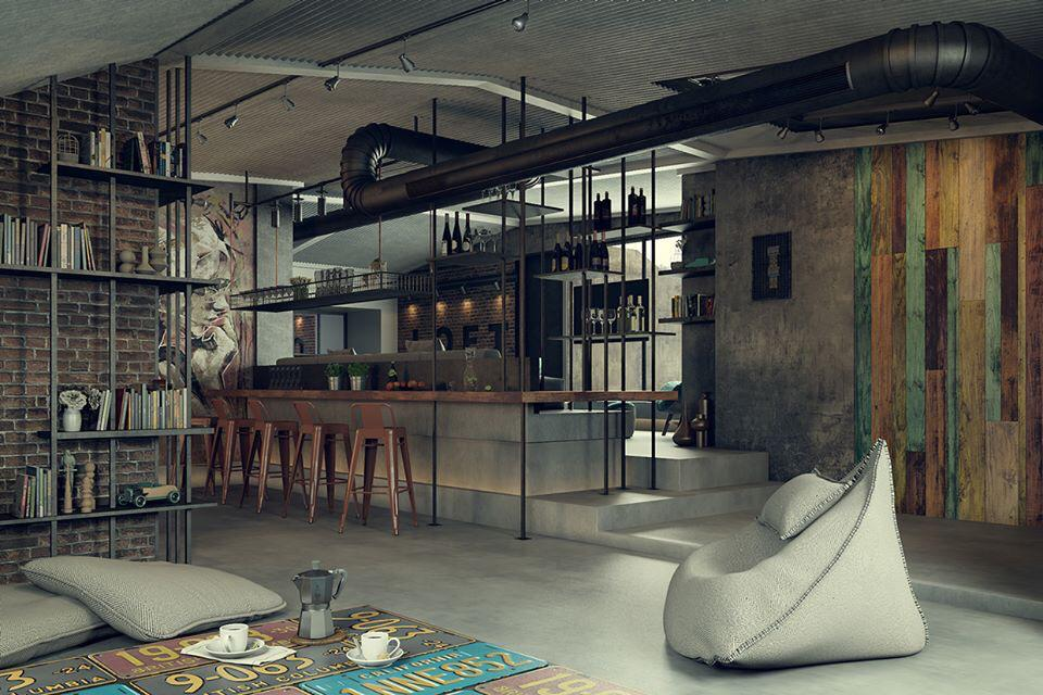 Diseños creativos de lofts