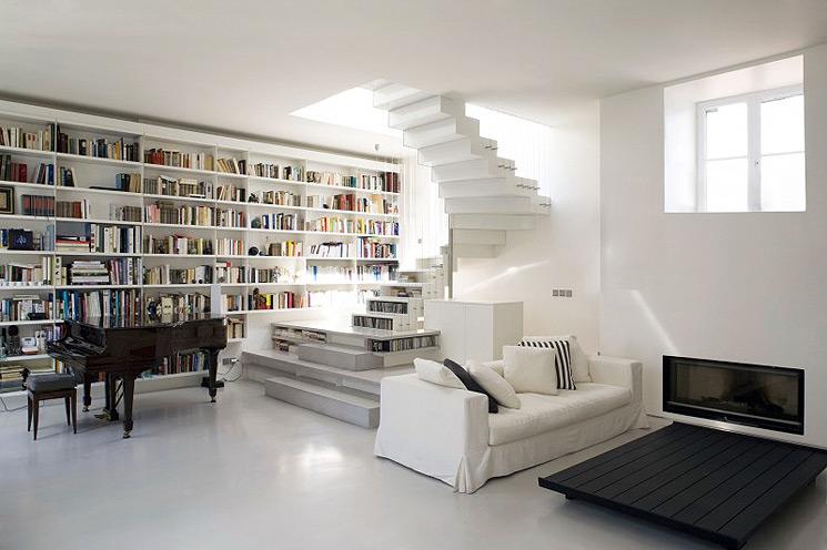 Loft minimalista en París