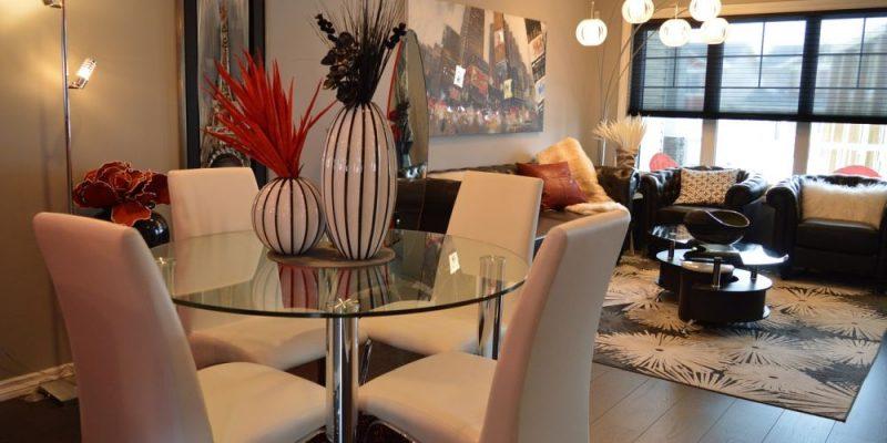 Cómo elegir y distribuir los muebles para un salón comedor