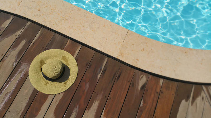 La imprescindible piscina de un chill out