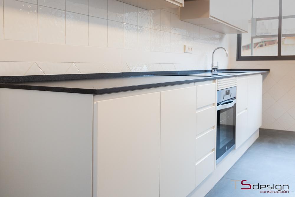 Preinstalación de electrodomésticos en la cocina