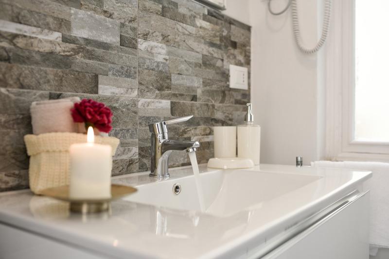 Preinstalación de espacios en el baño