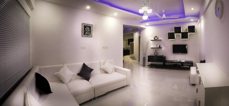 Diseño de interiores con iluminación