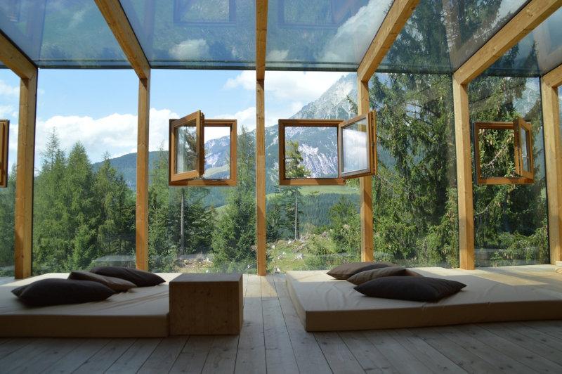 Reformas de techo con cristal