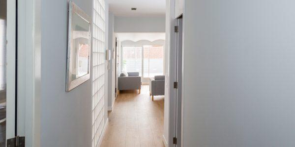 Cómo optimizar el espacio de un pasillo